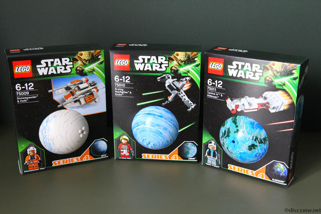 Lego Star Wars Planet Series 4