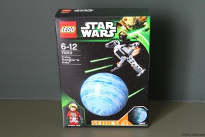 75010 B-Wing Starfighter & Endor - Box Front