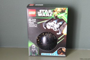 75008 TIE Bomber & Asteroid Field - Box Front