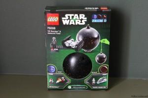 75008 TIE Bomber & Asteroid Field - Box Rear