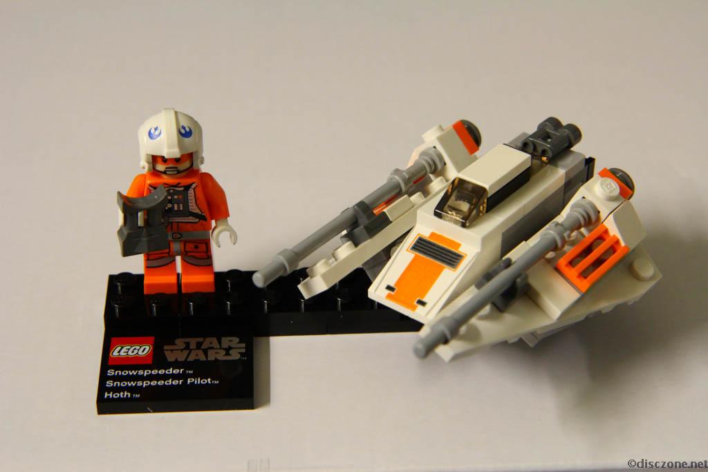 75009 Snowspeeder & Hoth - Completed 2