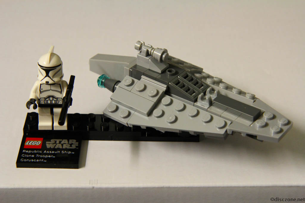 75007 Republic Assault Ship (TM) & Coruscant - Completed 1