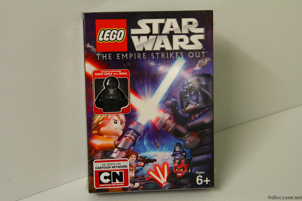 Lego Star Wars DVD - The Empire Strikes Out - Box Front