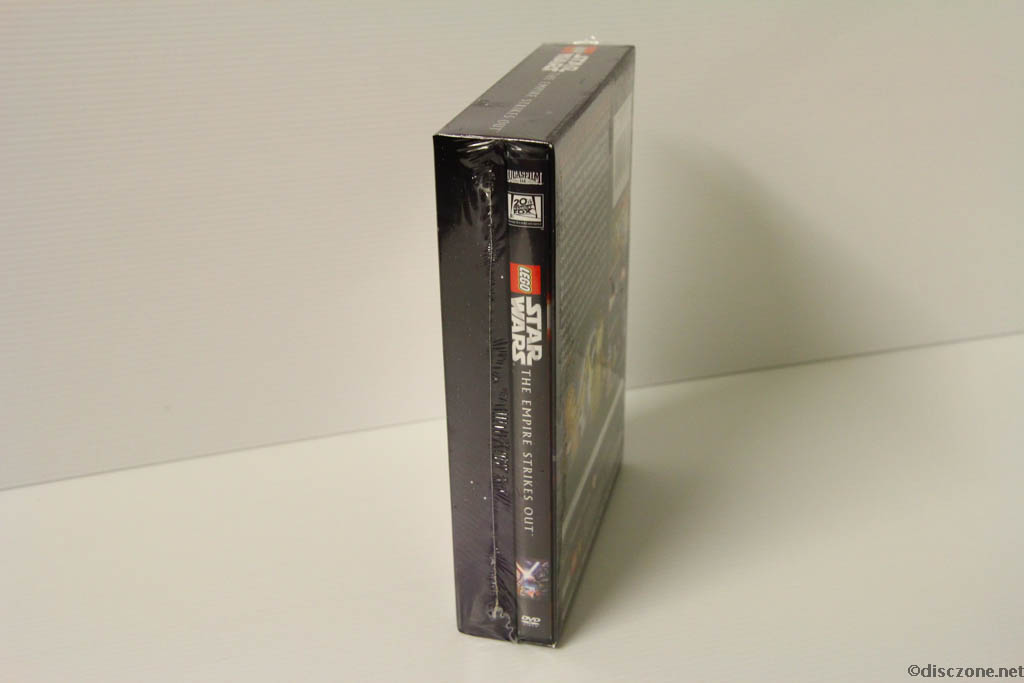 Lego Star Wars DVD - The Empire Strikes Out - Box Side