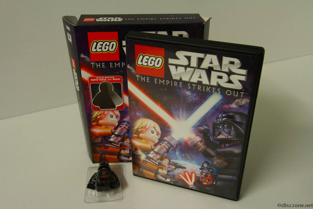 Lego Star Wars DVD - The Empire Strikes Out - Contents