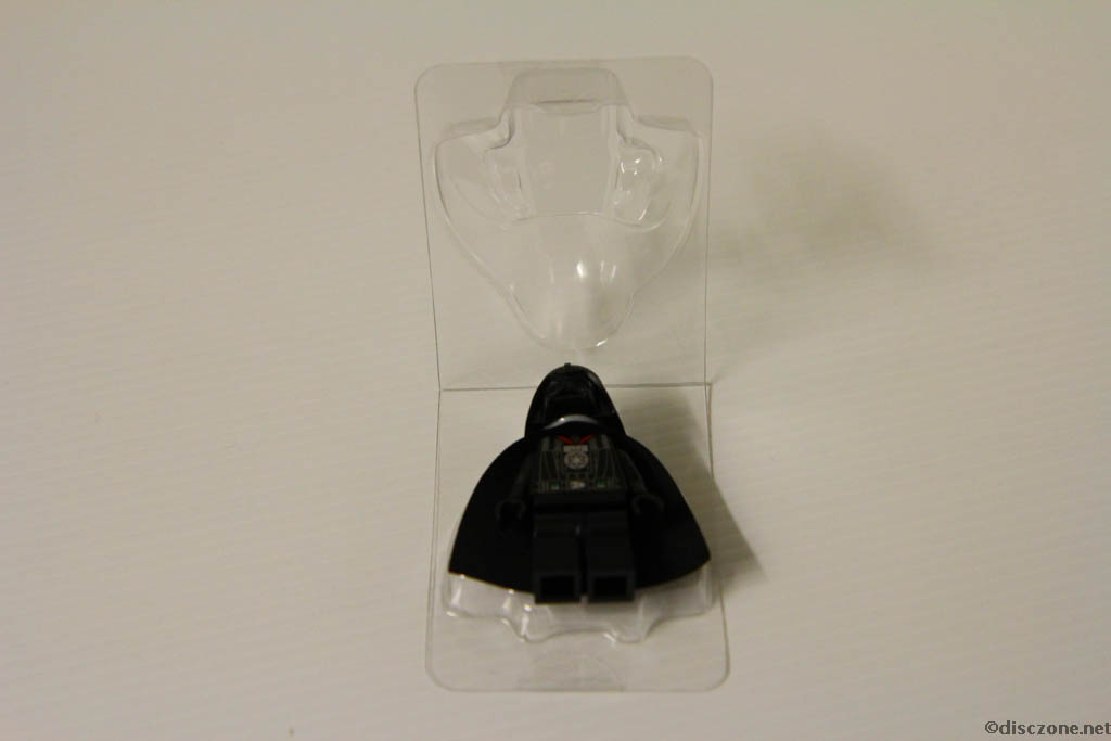 Lego Star Wars DVD - The Empire Strikes Out - Darth Vadar Minifigure with Packaging 1
