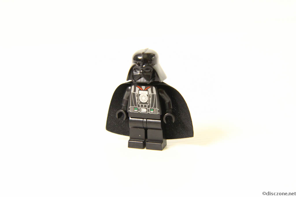 Lego Star Wars DVD - The Empire Strikes Out - Darth Vadar Minifigure Front
