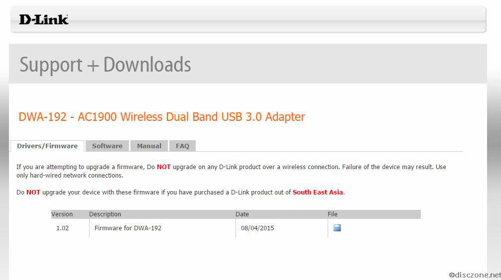 DWA-192 Setup - Download