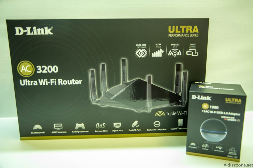 D-Link Wireless - DIR-890L and DWA-192