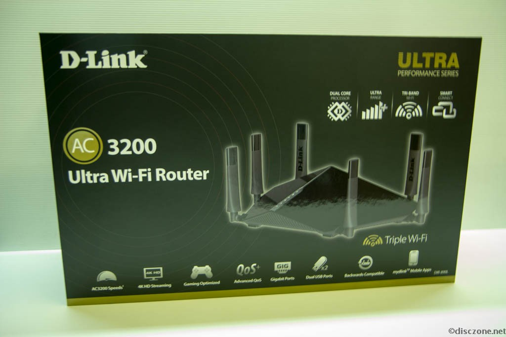 D-Link Wireless - DIR-890L Box Front