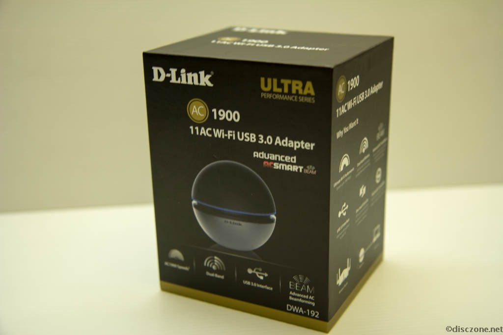 D-Link Wireless - DWA-192 Box Front