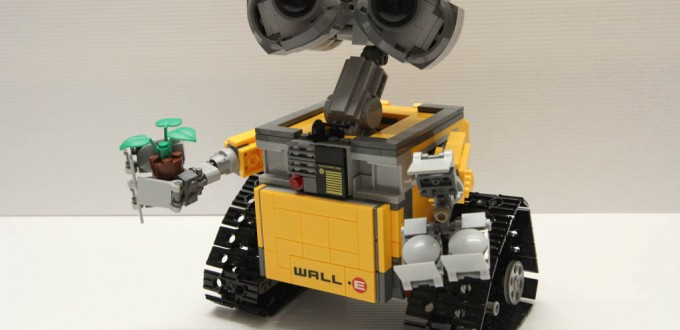 Lego Ideas 21303 Wall-E - Completed 9