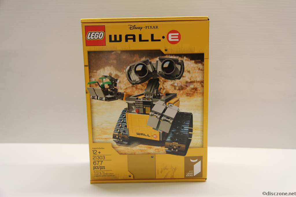 Lego Ideas 21303 Wall-E - Box Front