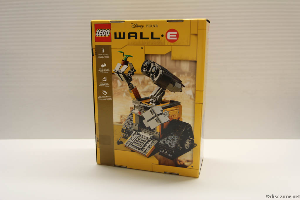 Lego Ideas 21303 Wall-E - Box Rear