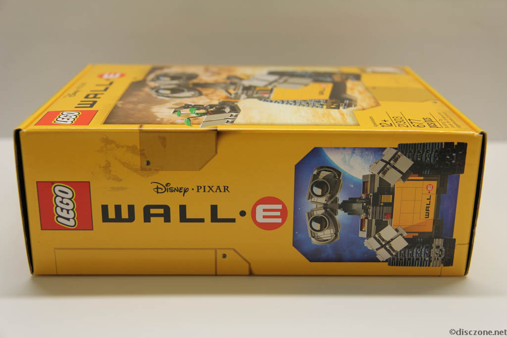 Lego Ideas 21303 Wall-E - Box Side 1
