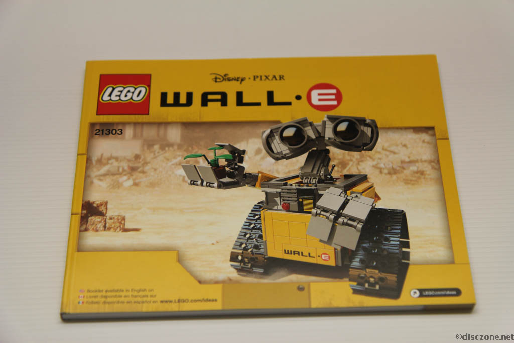 Lego Ideas 21303 Wall-E - Instructions Booklet 1