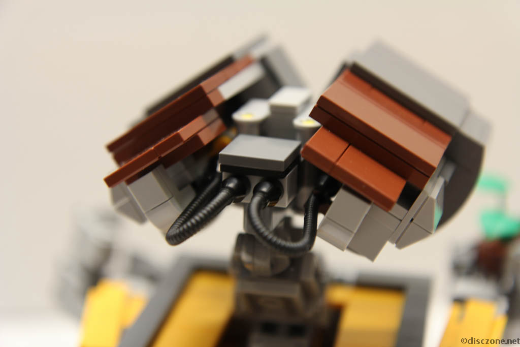 Lego Ideas 21303 Wall-E - Head Rear