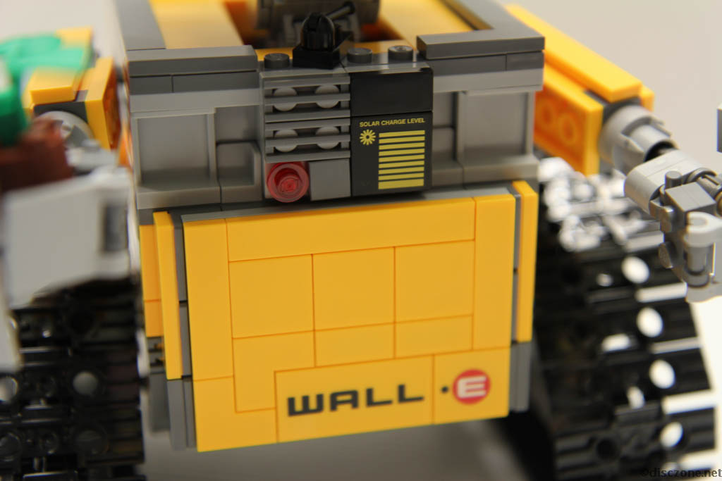 Lego Ideas 21303 Wall-E - Printed Tiles