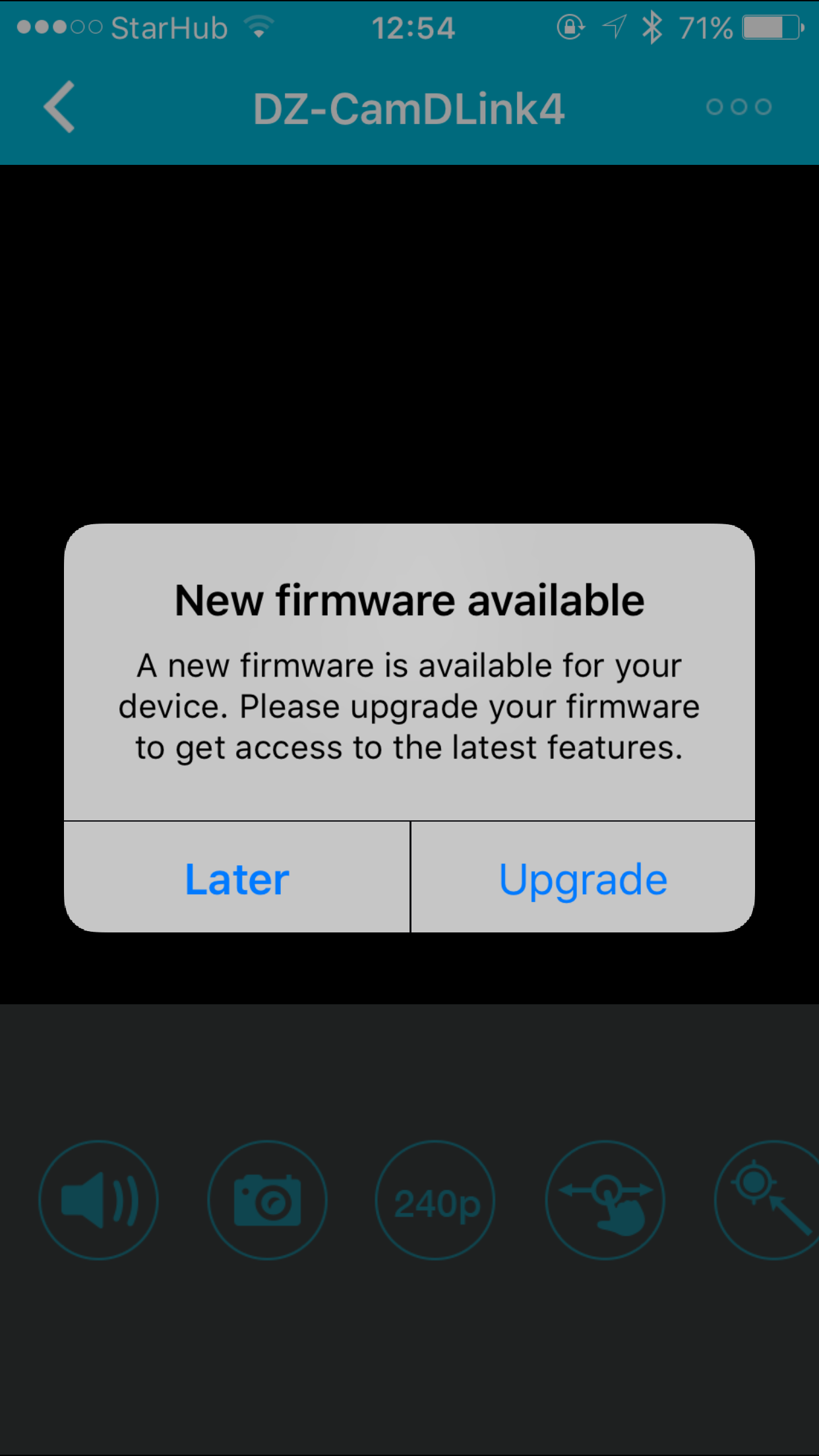 MyDLink Lite Issue - Firmware Reminder