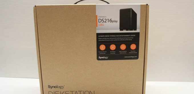 Synology DS216Play - Box 1