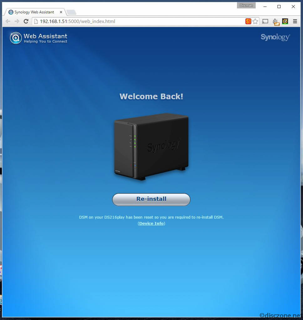 Review of Synology DiskStation DS216Play - Software -