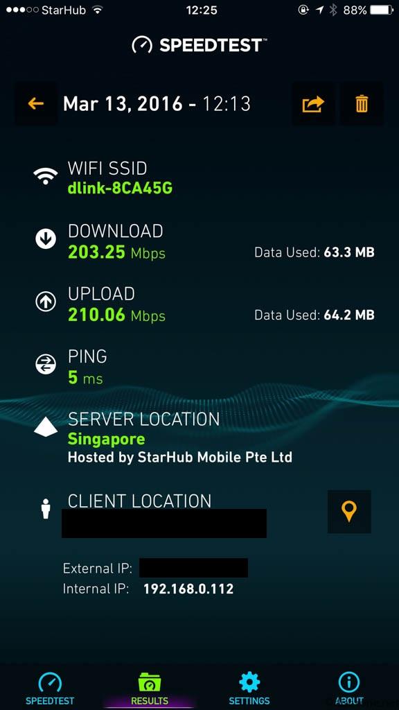 D-Link Ultra WiFi Router DIR-885 at 5Ghz Detail
