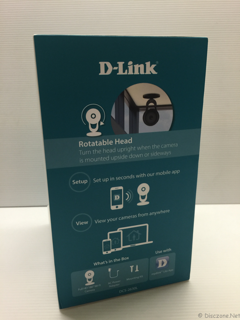 DLink DCS-2630L - Box Side 1