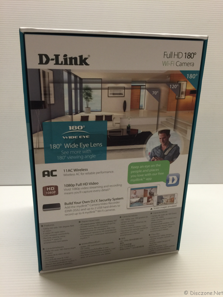 DLink DCS-2630L - Box Rear