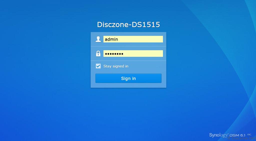 DSM6.1 - Upgrade 6