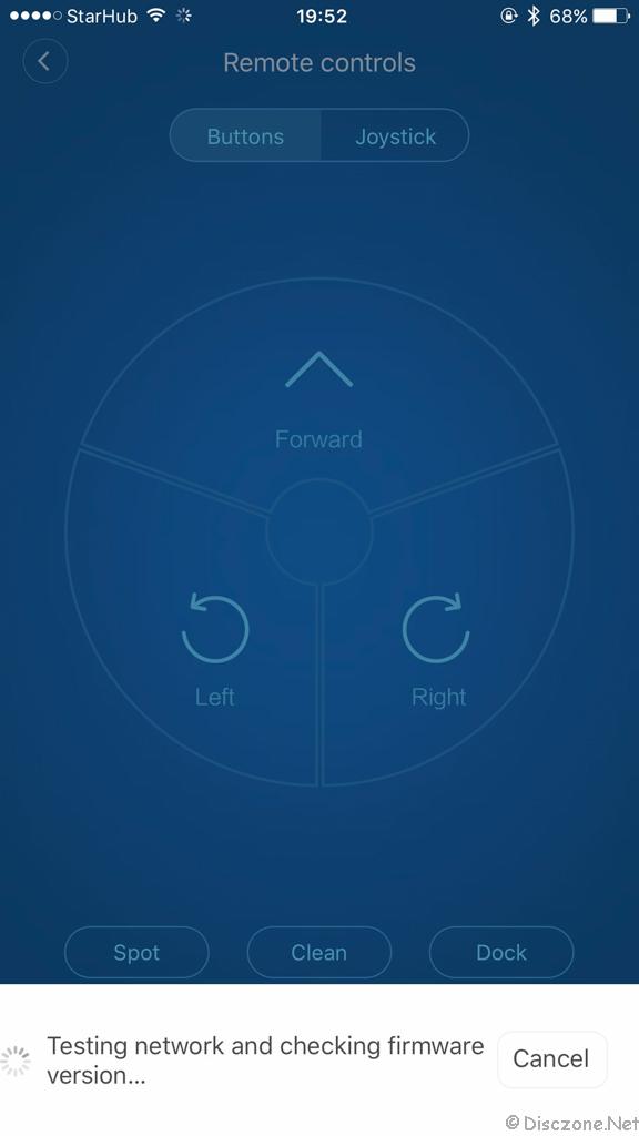 Xiao Mi Vacuum - App 5