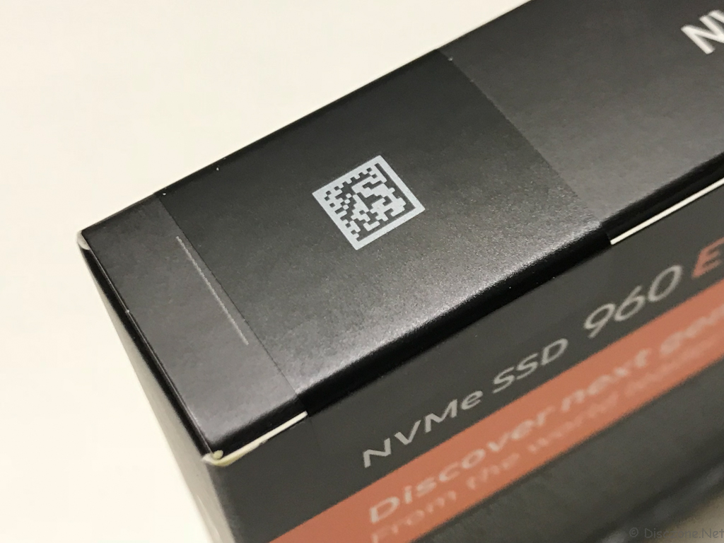 DS918 Review - Samsung NVMe SSD Seal