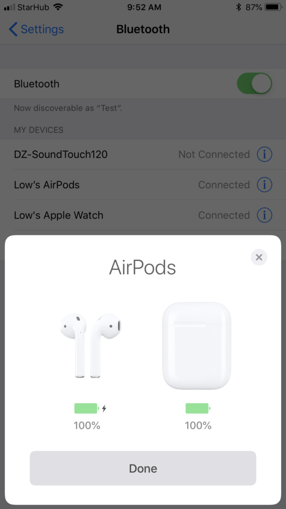 Apple AirPods - Connecting 3