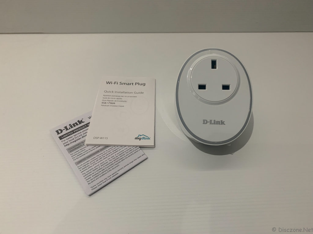 D-Link Wi-Fi Smart Plug DSP-W115 - Contents