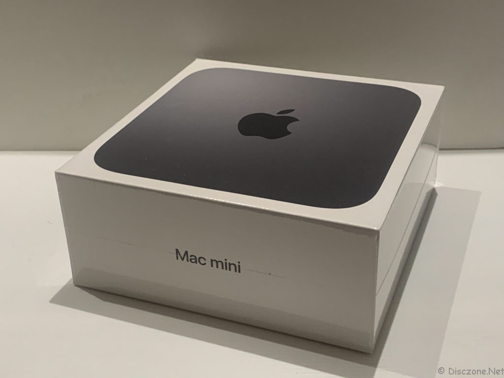 Mac Mini 2018 - Box Side
