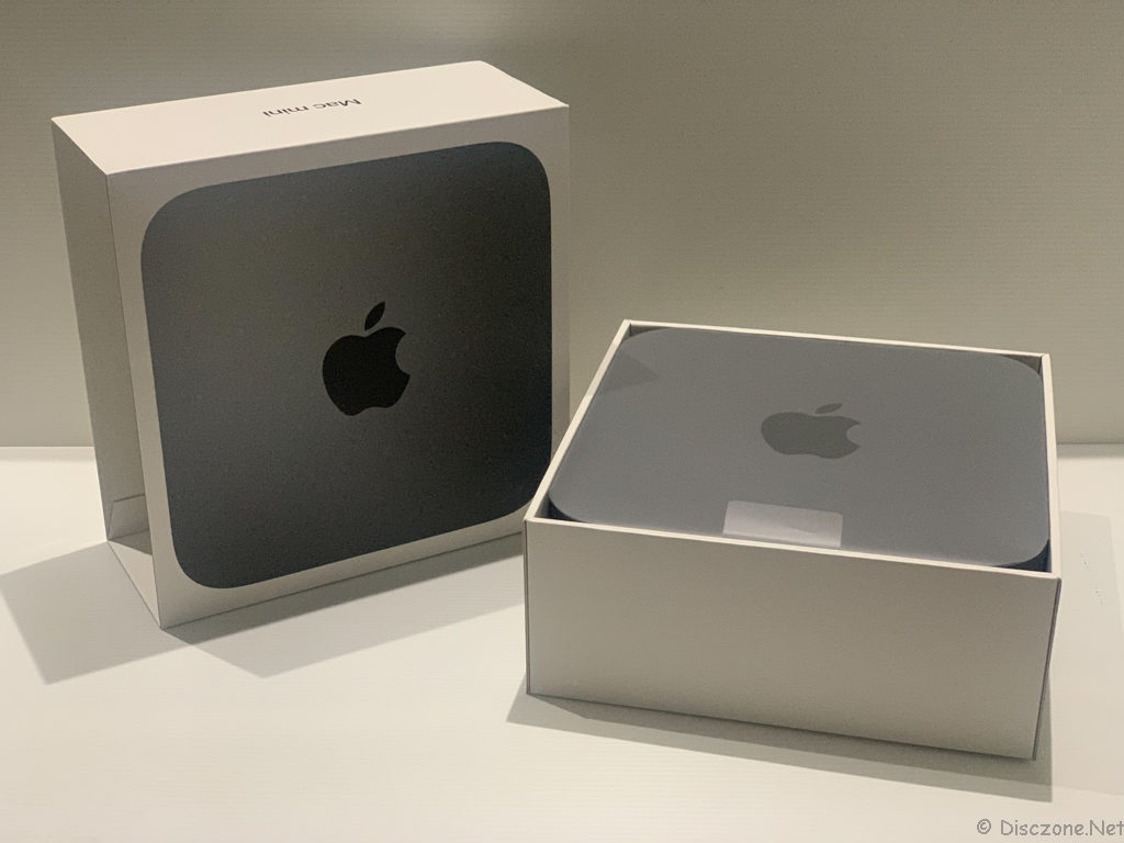 Mac Mini 2018 - Box Opened