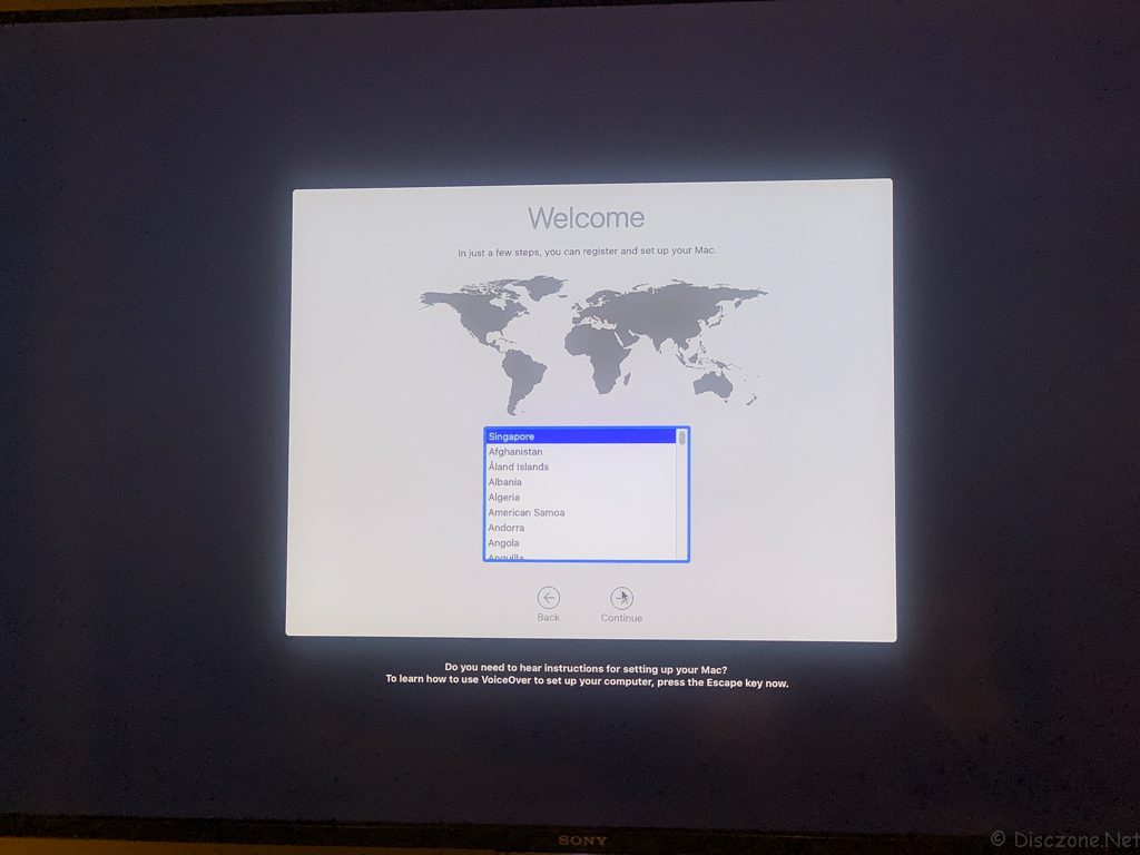 Mac Mini 2018 - Setup 2