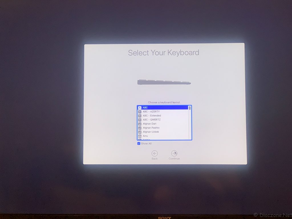 Mac Mini 2018 - Setup 3