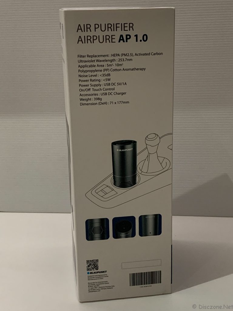 BlaupunkT Air Purifier AirPure AP1.0 - Box 3