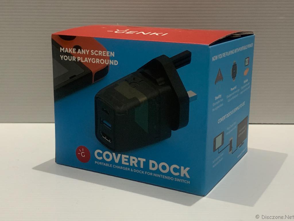 GENKI Covert Dock - Box View 1