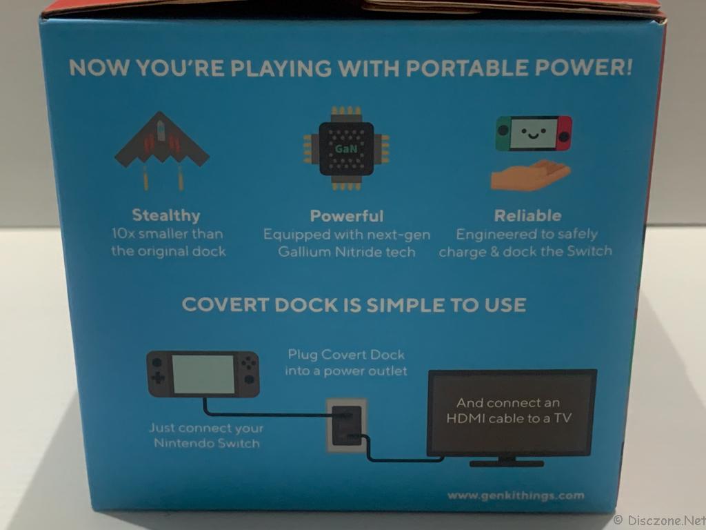 GENKI Covert Dock - Box View 5