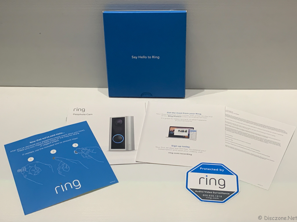 Ring Peephole Cam - Manuals