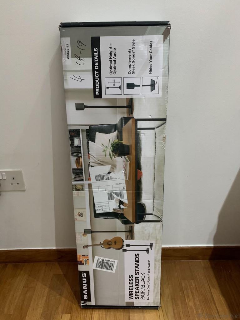 Sanus WSS22-B2 Sonos Speaker Stands - Box Front