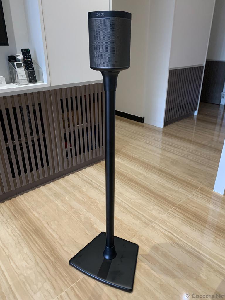 Sanus WSS22-B2 Sonos Speaker Stands - Completed Front