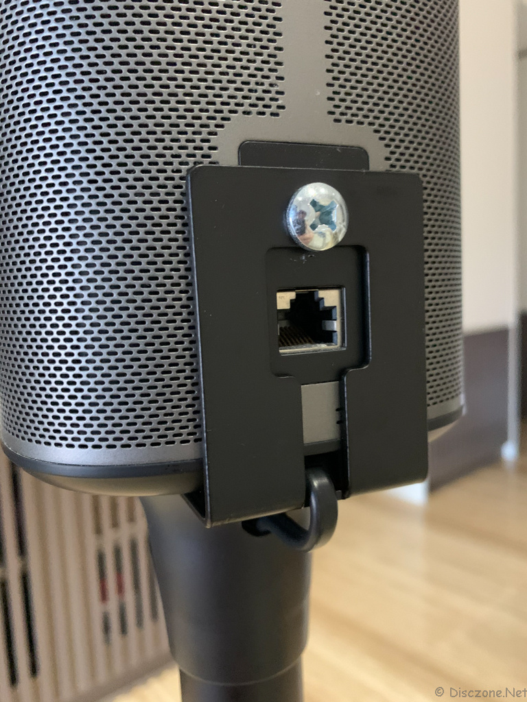 Sanus WSS22-B2 Sonos Speaker Stands - Completed Attached