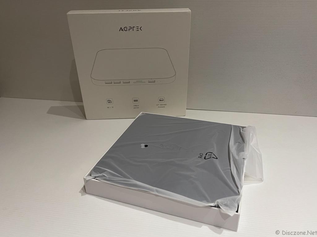 AGPTEK USB Hub and Storage - UnBox