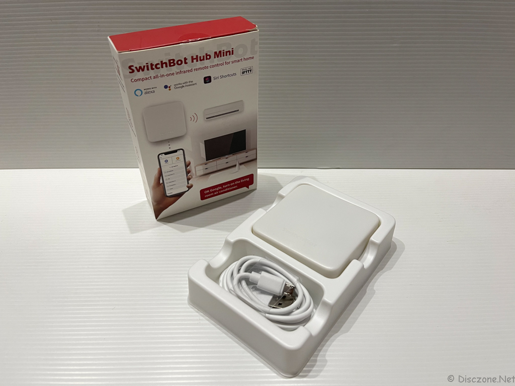 Review of SwitchBot Products - SwitchBot Hub Mini Box