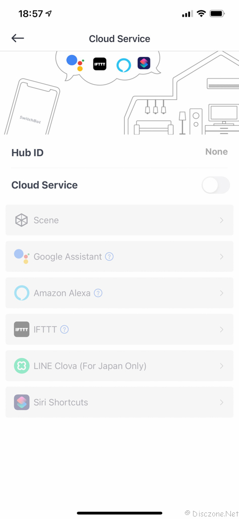Review of SwitchBot Products - App Bot Settings 10