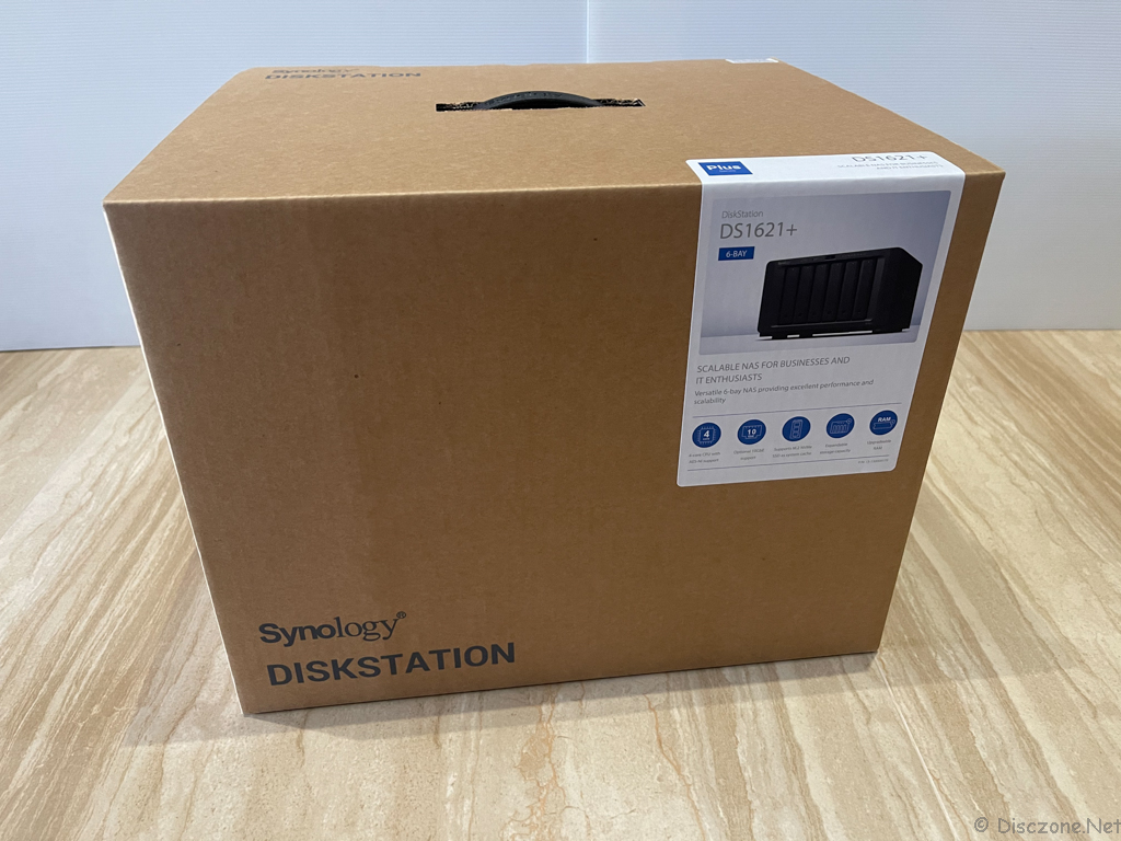 Synology DS1621+ : Box 2